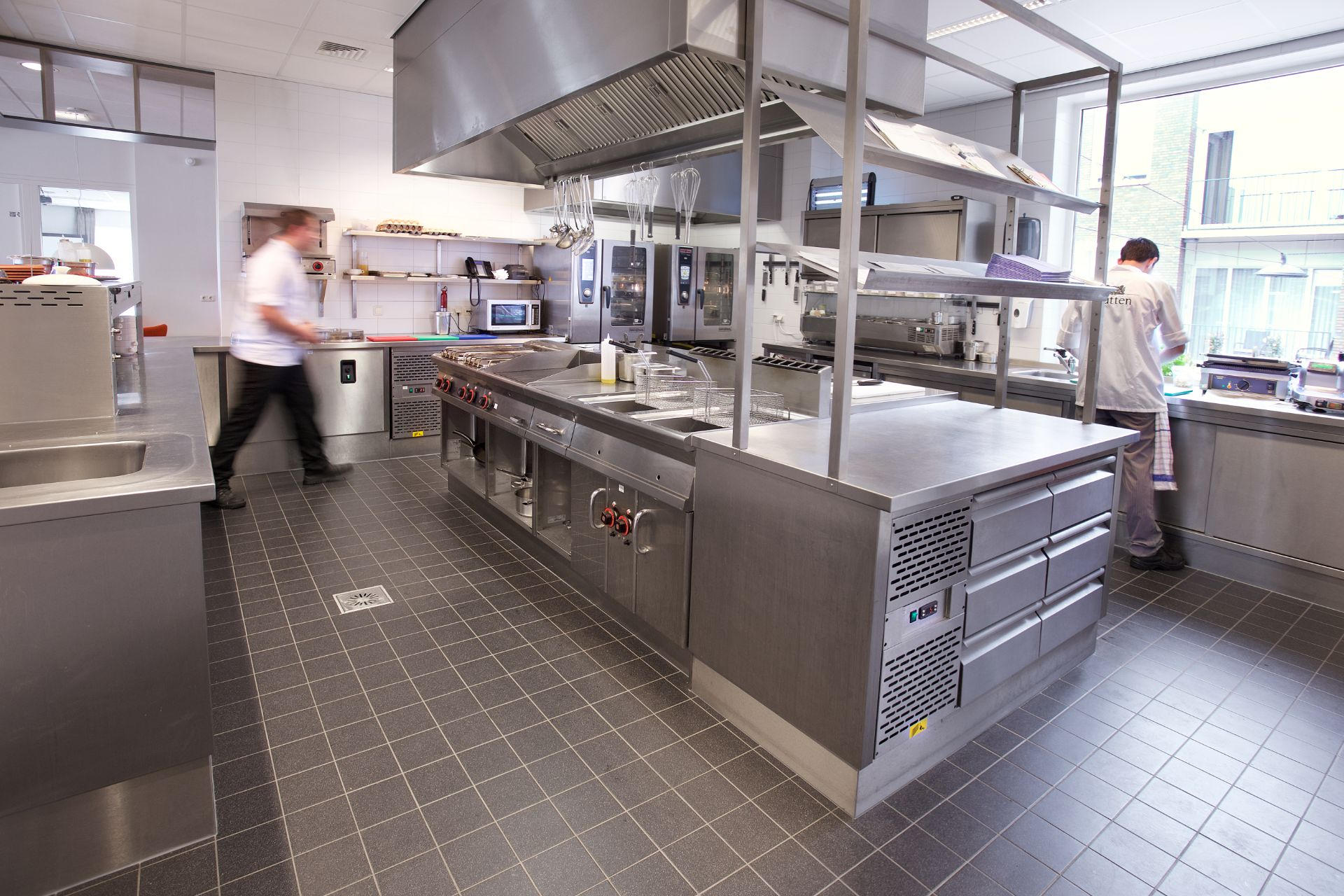 Professionele keuken Pantein Zorgcentrum