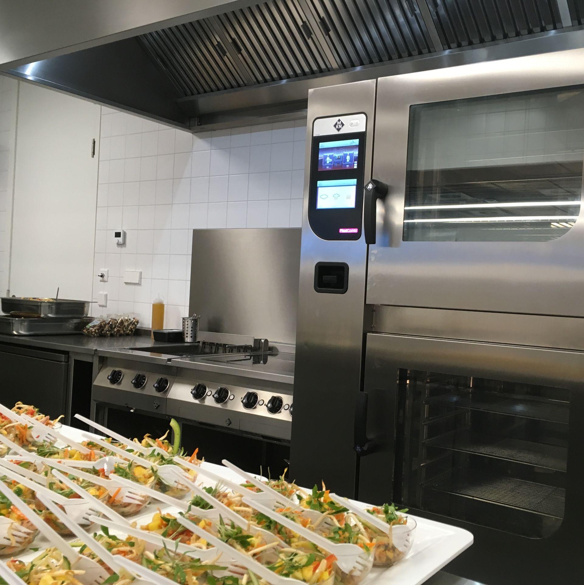 Bedrijfsrestaurant met oven Gemeentewerf