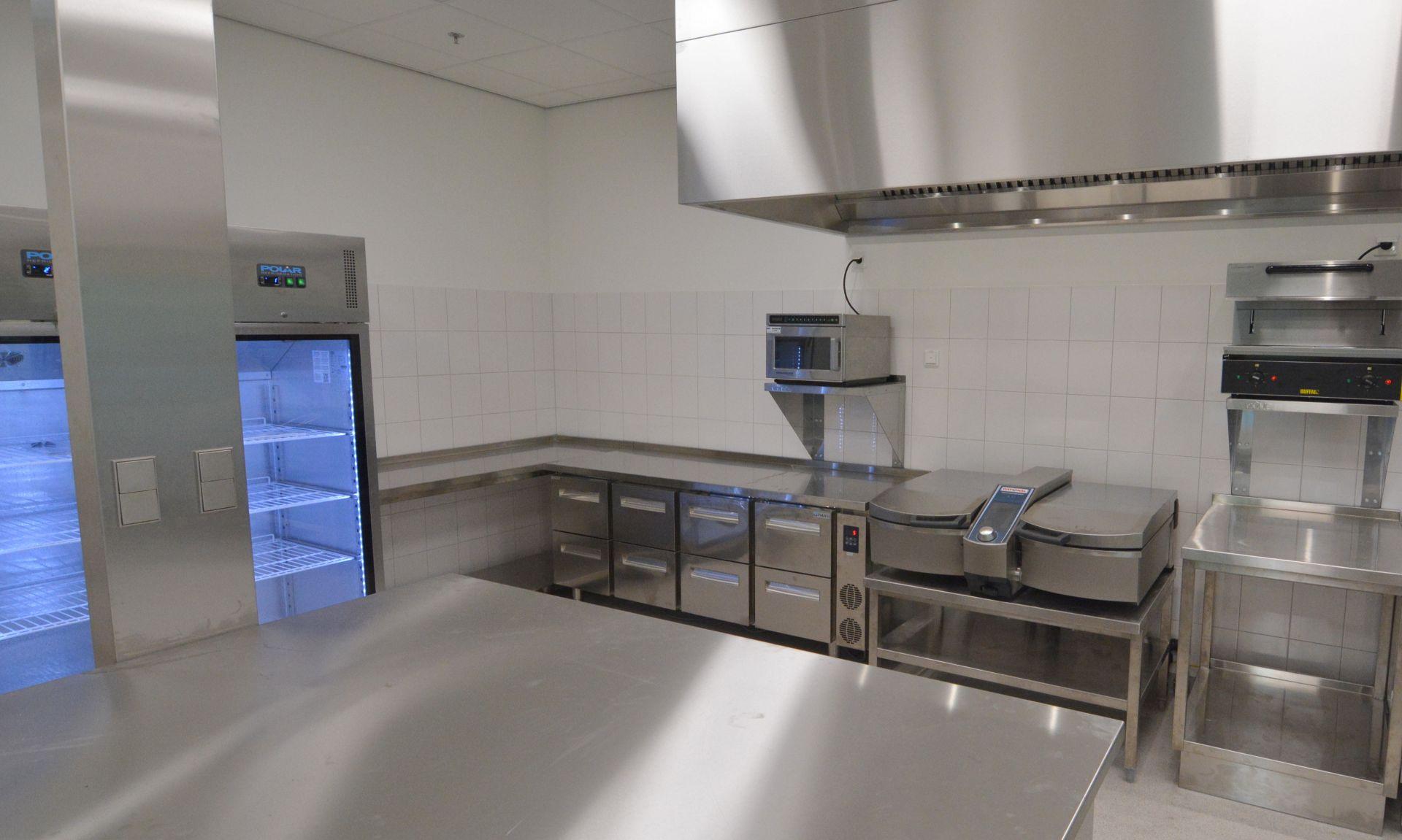 Kooklokaal school door Kampri