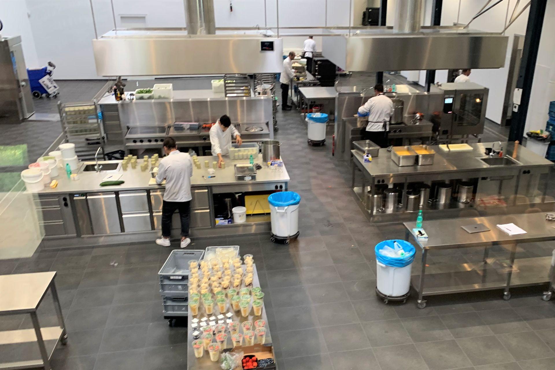 Productie keuken Kampri Kampen