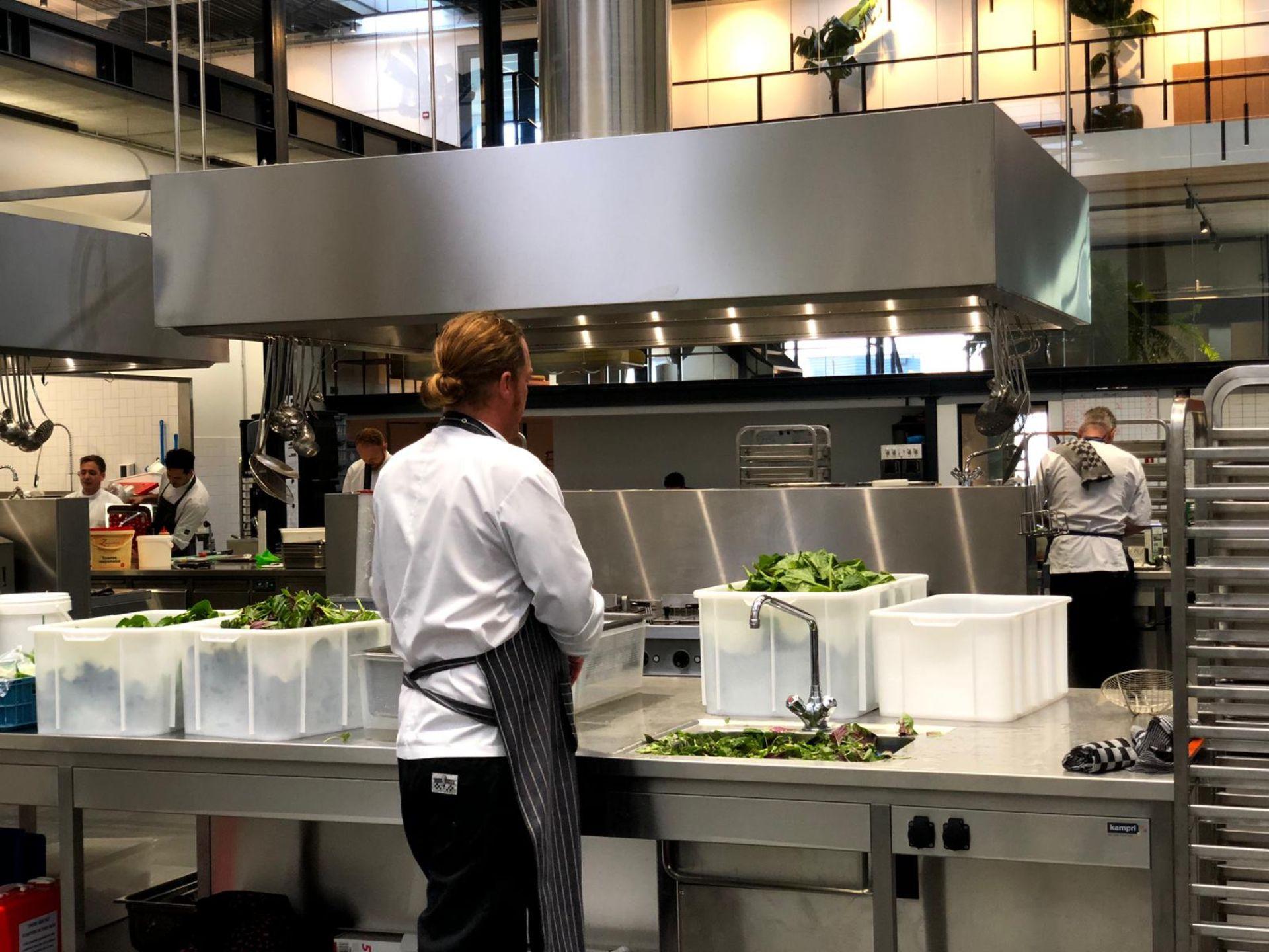 Productie keuken