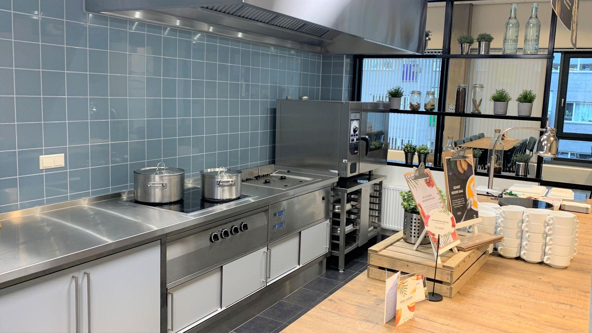 Bedrijfsrestaurant met oven VRGZ