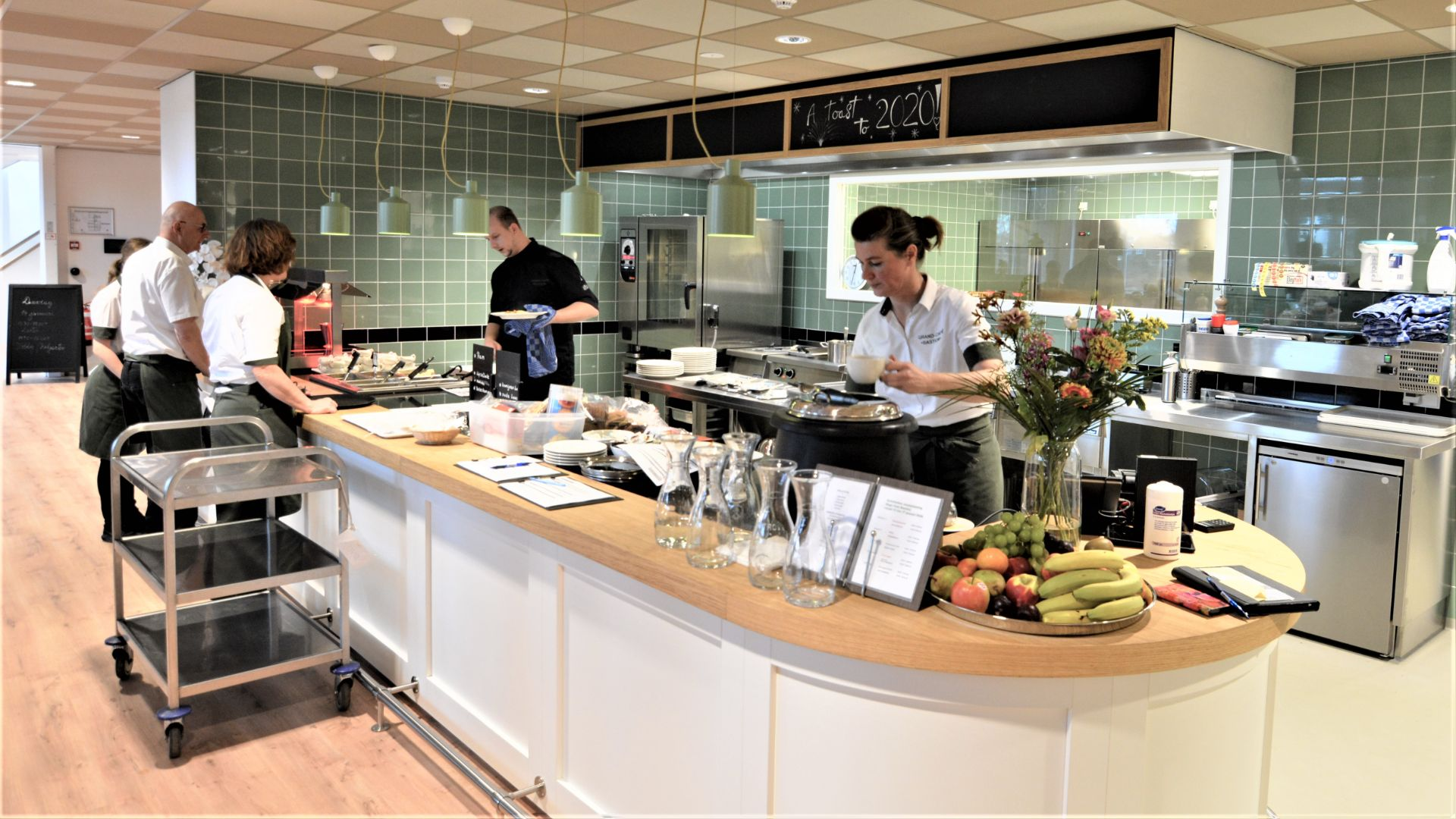 Professionele keuken voor de zorg